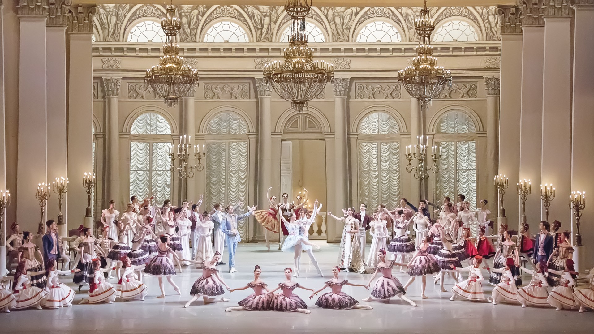 Юбилейный вечер Академии Русского балета имени А.Я. Вагановой
