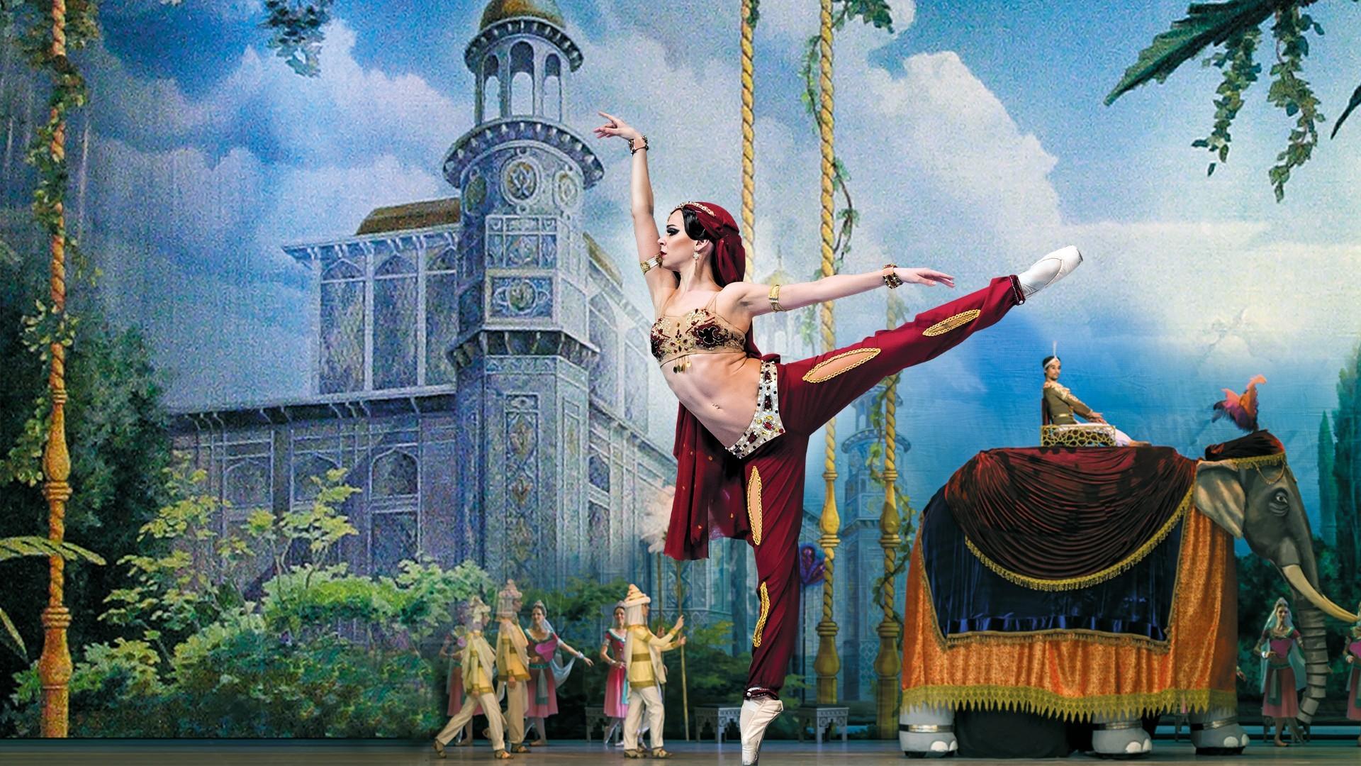 """VII Международный фестиваль балета в Кремле. Баядерка. Спектакль театра """"Кремлёвский балет"""""""