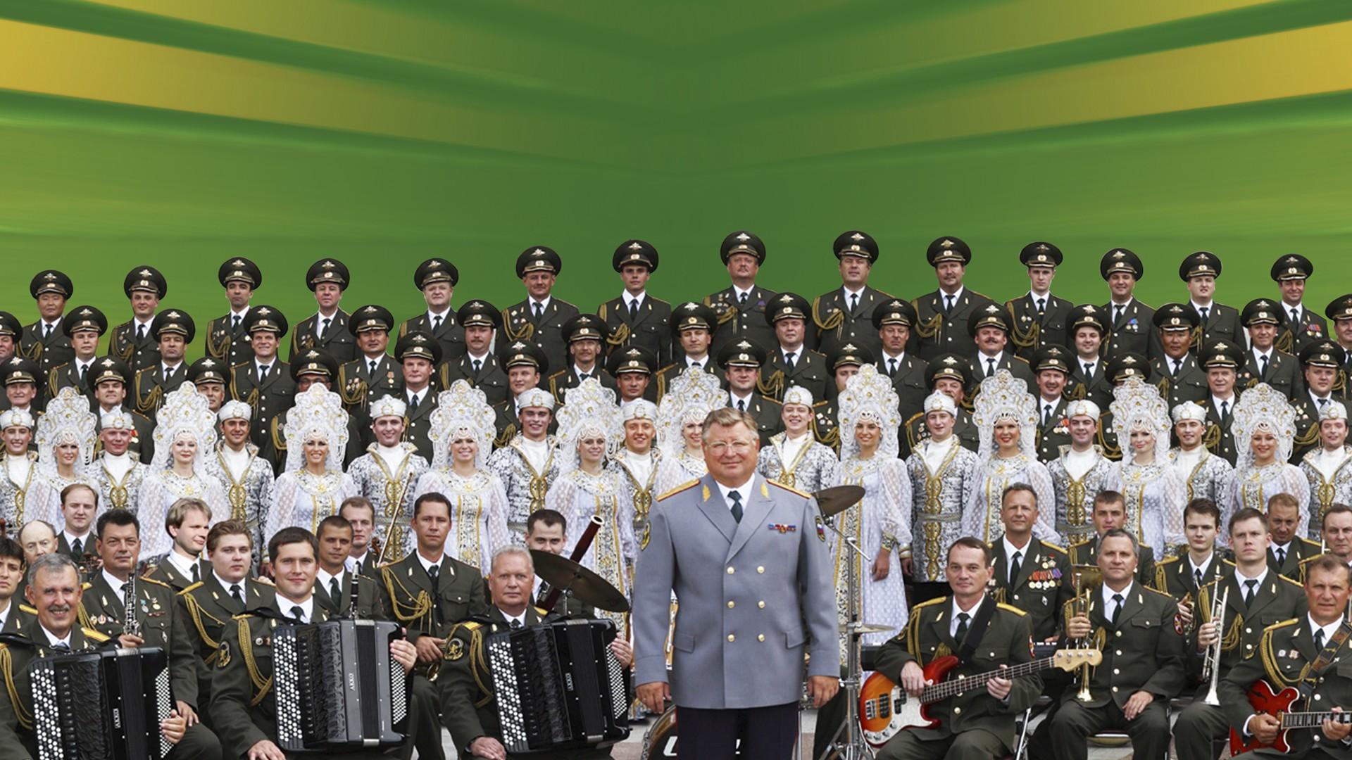 Юбилейный концерт Академического ансамбля песни и пляски войск национальной гвардии РФ