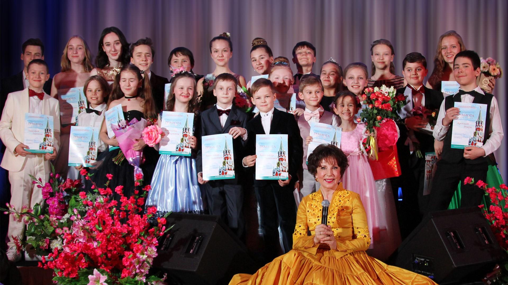 Концерт из цикла «Звезды «Романсиады» в Кремле». Концертная программа «Юные таланты России»