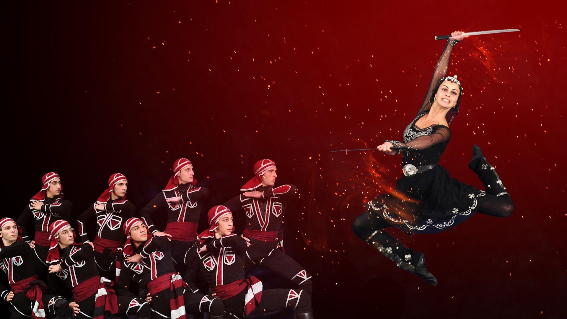 """Королевский национальный балет Грузии. Шоу """"Огонь Грузии"""""""