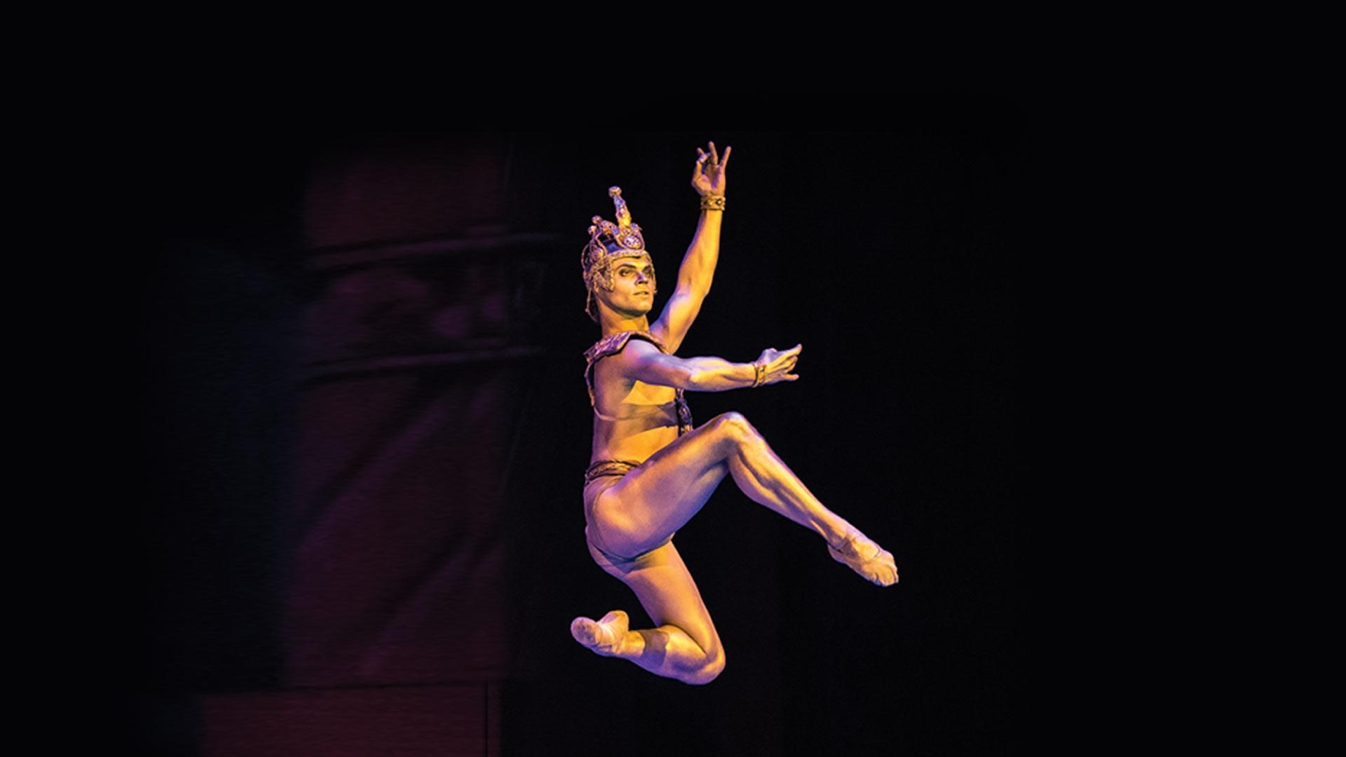 """VIII Международный фестиваль балета в Кремле. Баядерка. Л. Минкус. Спектакль театра """"Кремлёвский балет"""""""
