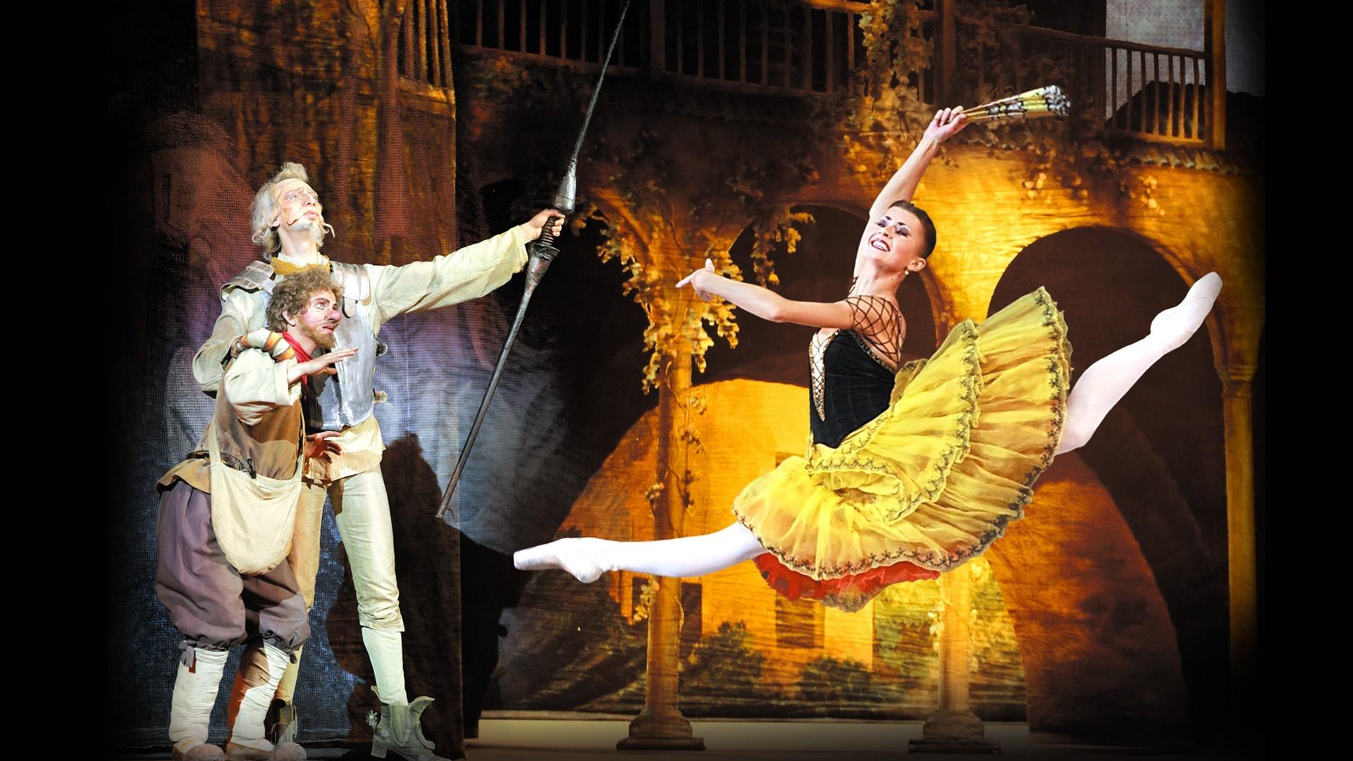 """VIII Международный фестиваль балета в Кремле. Дон Кихот. Л. Минкус. Спектакль театра """"Кремлёвский балет"""""""