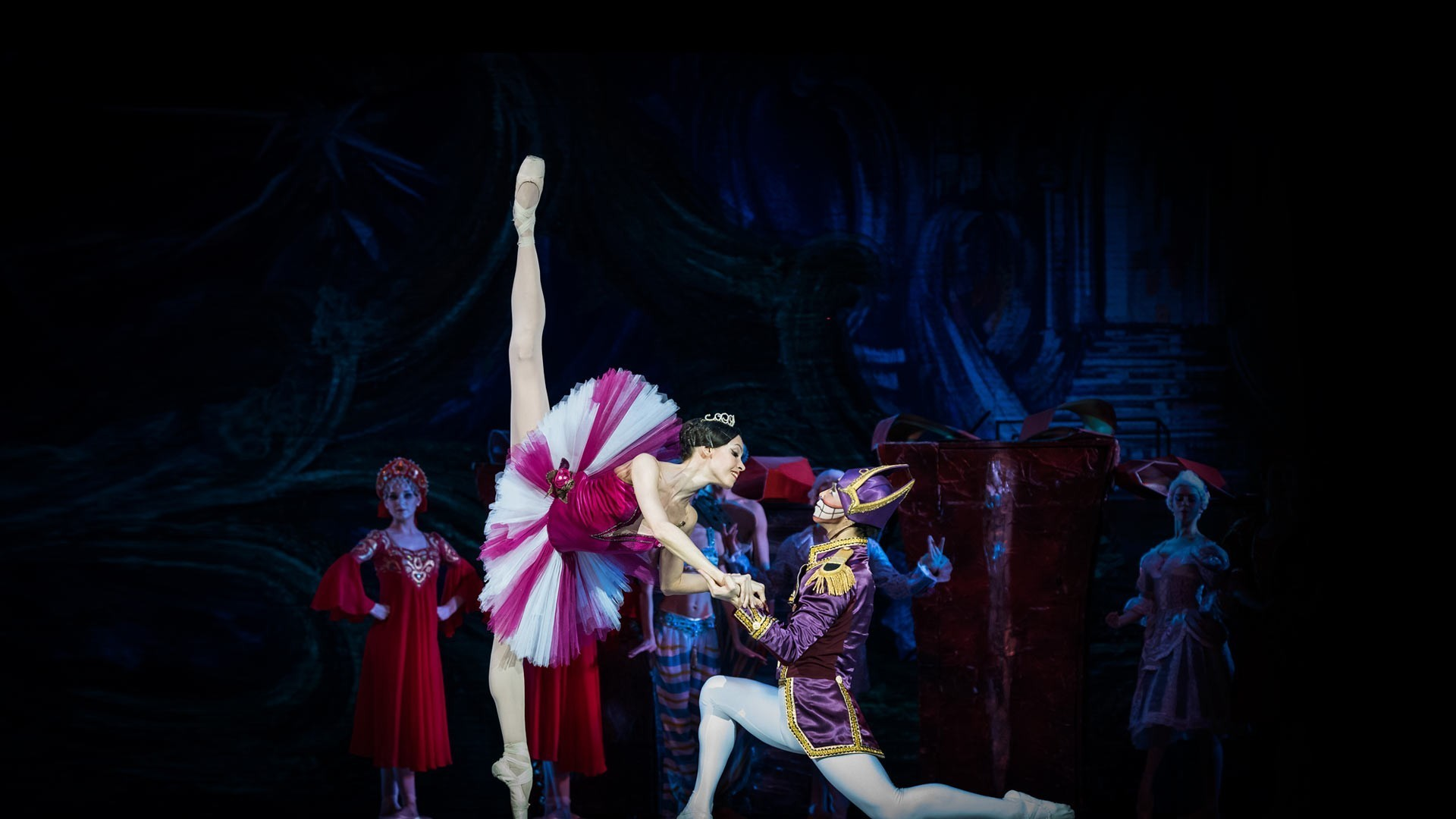 """VIII Международный фестиваль балета в Кремле. Щелкунчик. П. Чайковский. Спектакль театра """"Кремлёвский балет"""""""