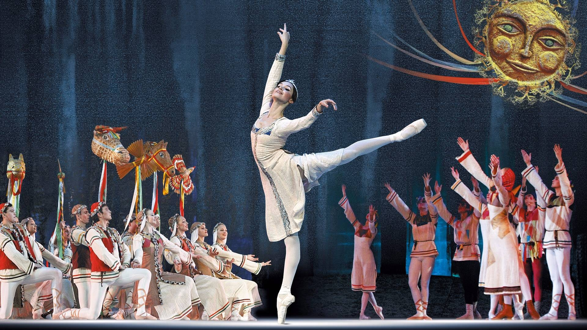 """Снегурочка. на музыку П.И. Чайковского. Спектакль театра """"Кремлёвский балет"""""""