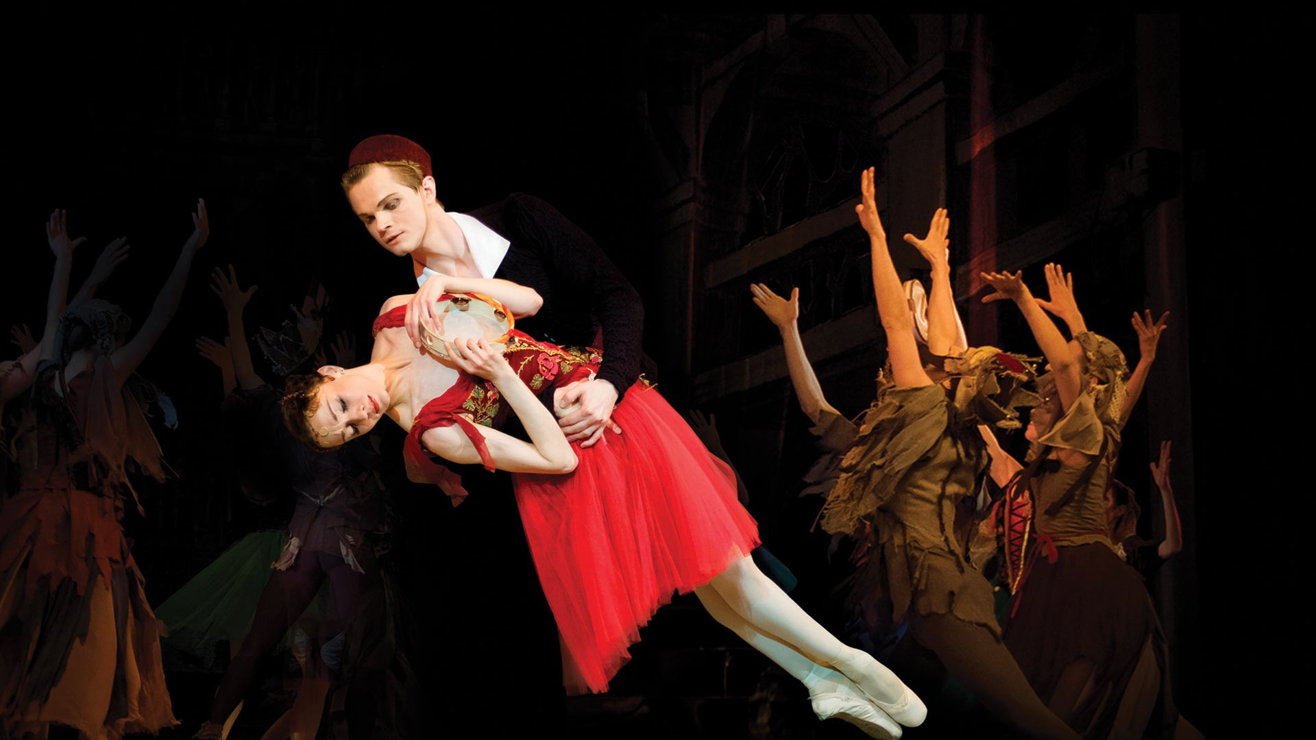 """IX Международный фестиваль балета в Кремле. Эсмеральда. Ц. Пуни, Р. Дриго. Спектакль театра """"Кремлёвский балет"""""""