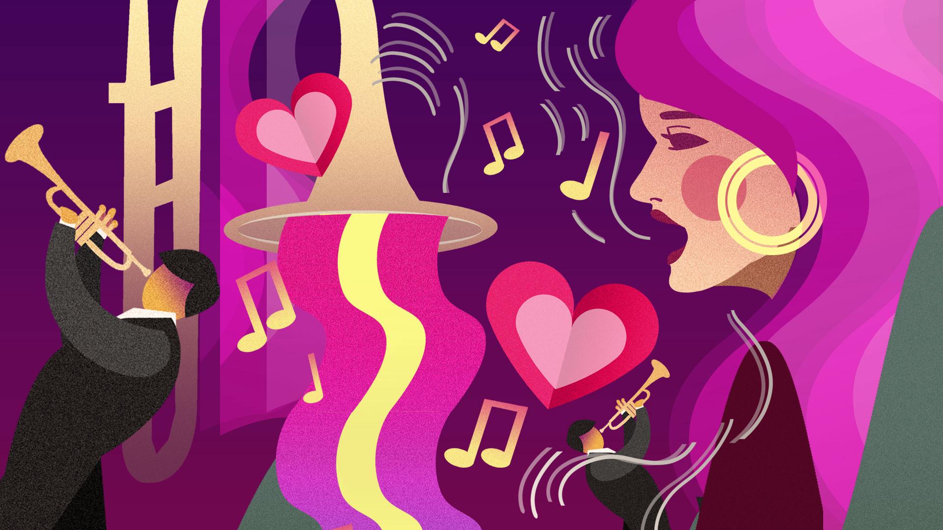 """Оркестр """"Столичный джаз"""". Концертная программа «L-O-V-Е. Всем влюблённым посвящается»"""