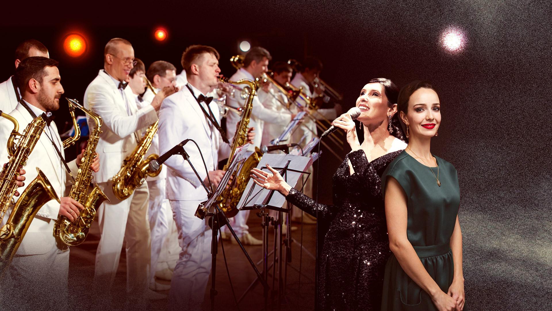 Джаз-оркестр Георгия Гараняна, Валерия Ланская, Кристель Лури (Франция). «Проверено временем»