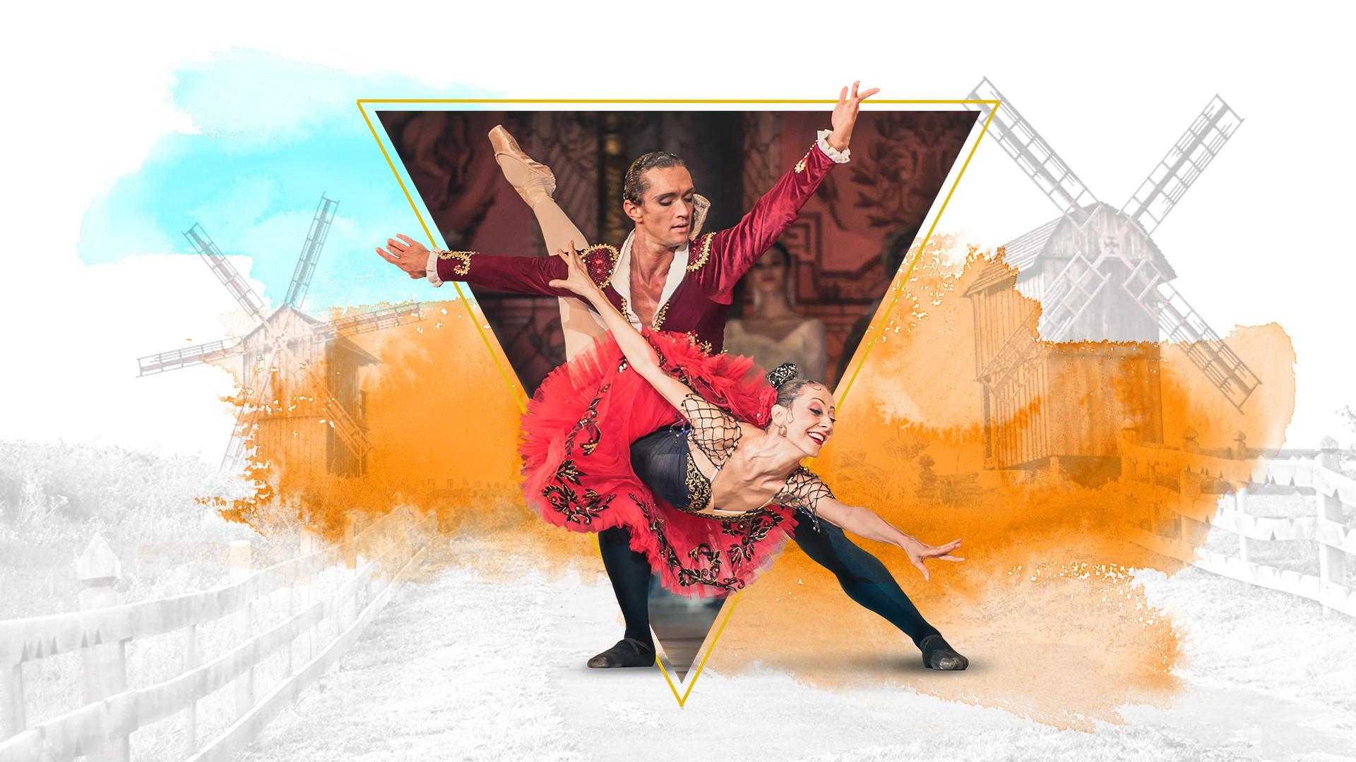 Дон Кихот. Государственный академический театр классического балета Н. Касаткиной и В. Василёва