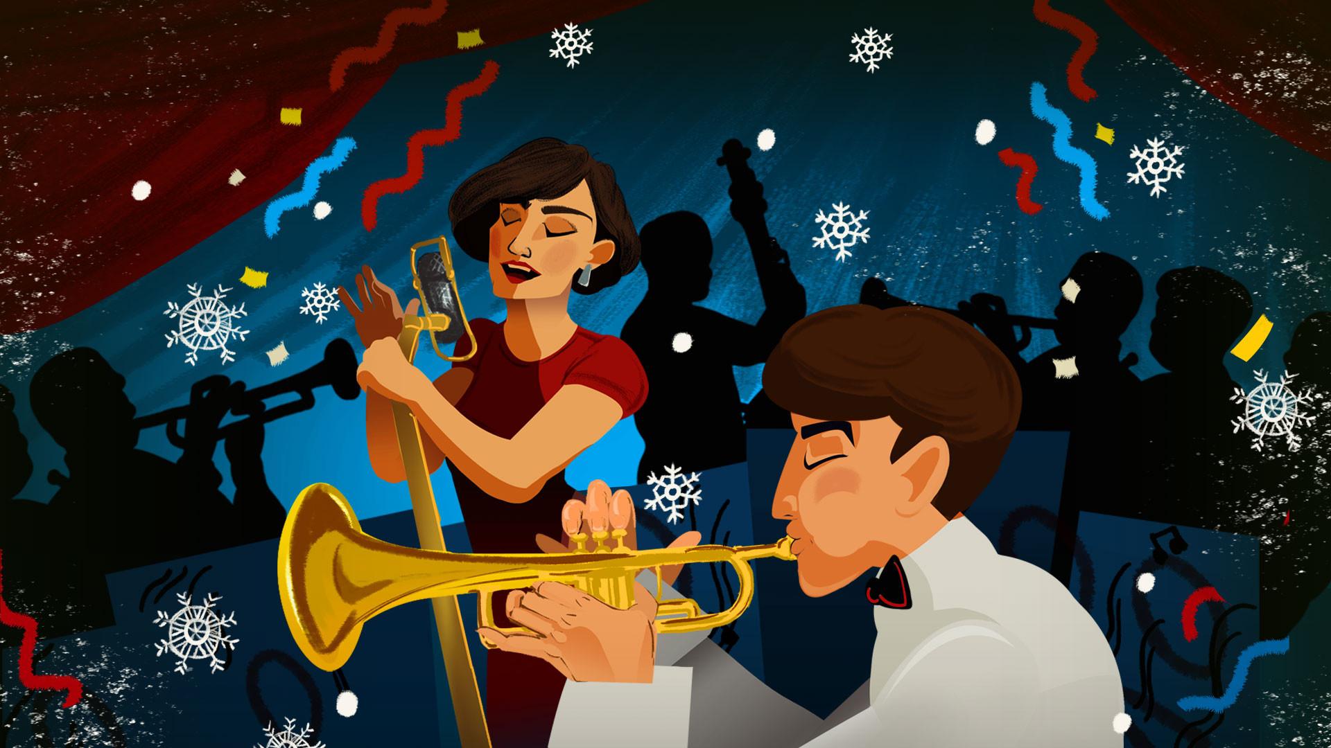 Рождественский вечер с Большим Джазовым Оркестром под управлением П. Востокова