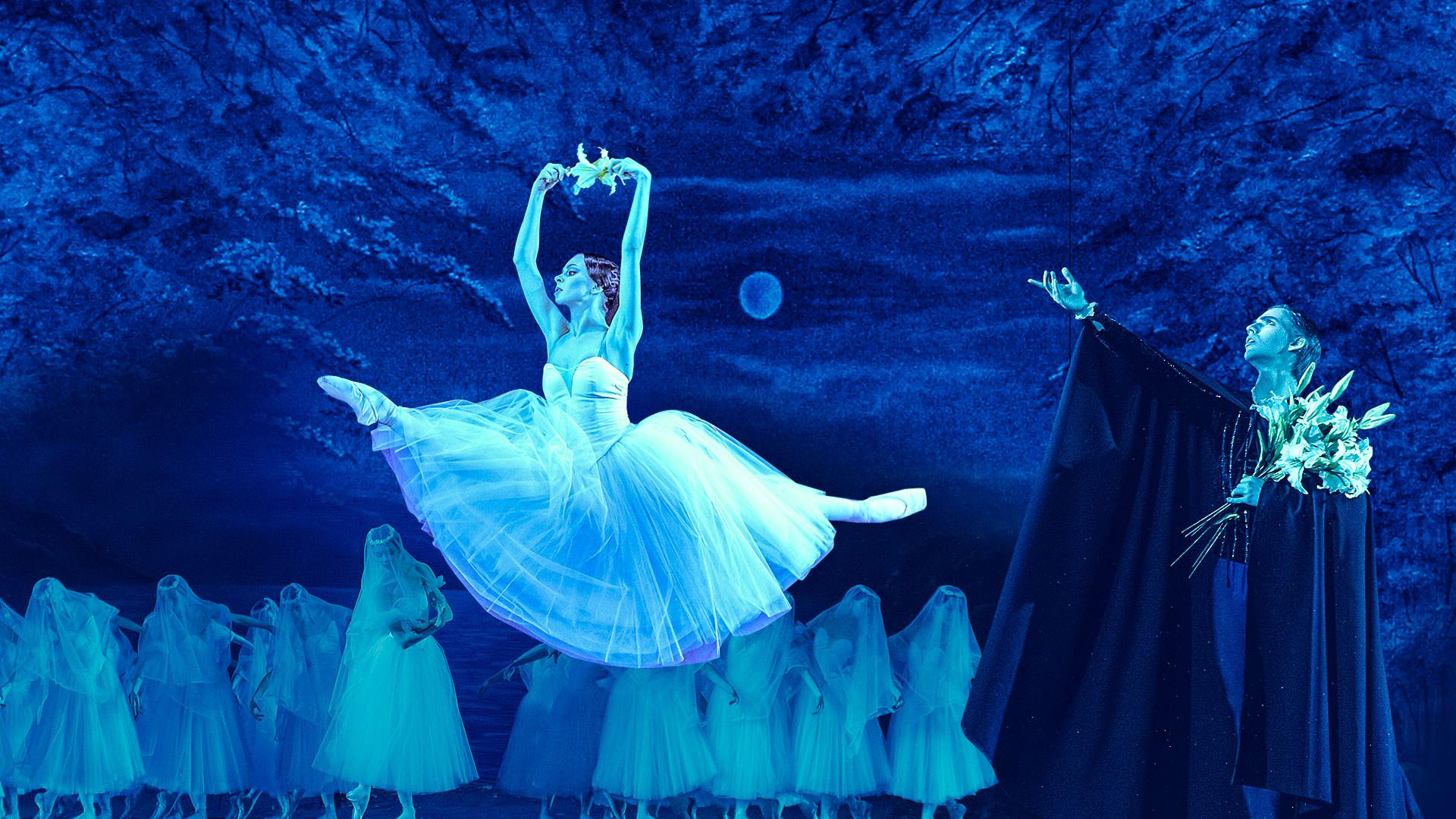 """IХ Фестиваль балета в Кремле. Жизель. А. Адан. Спектакль театра """"Кремлёвский балет"""""""