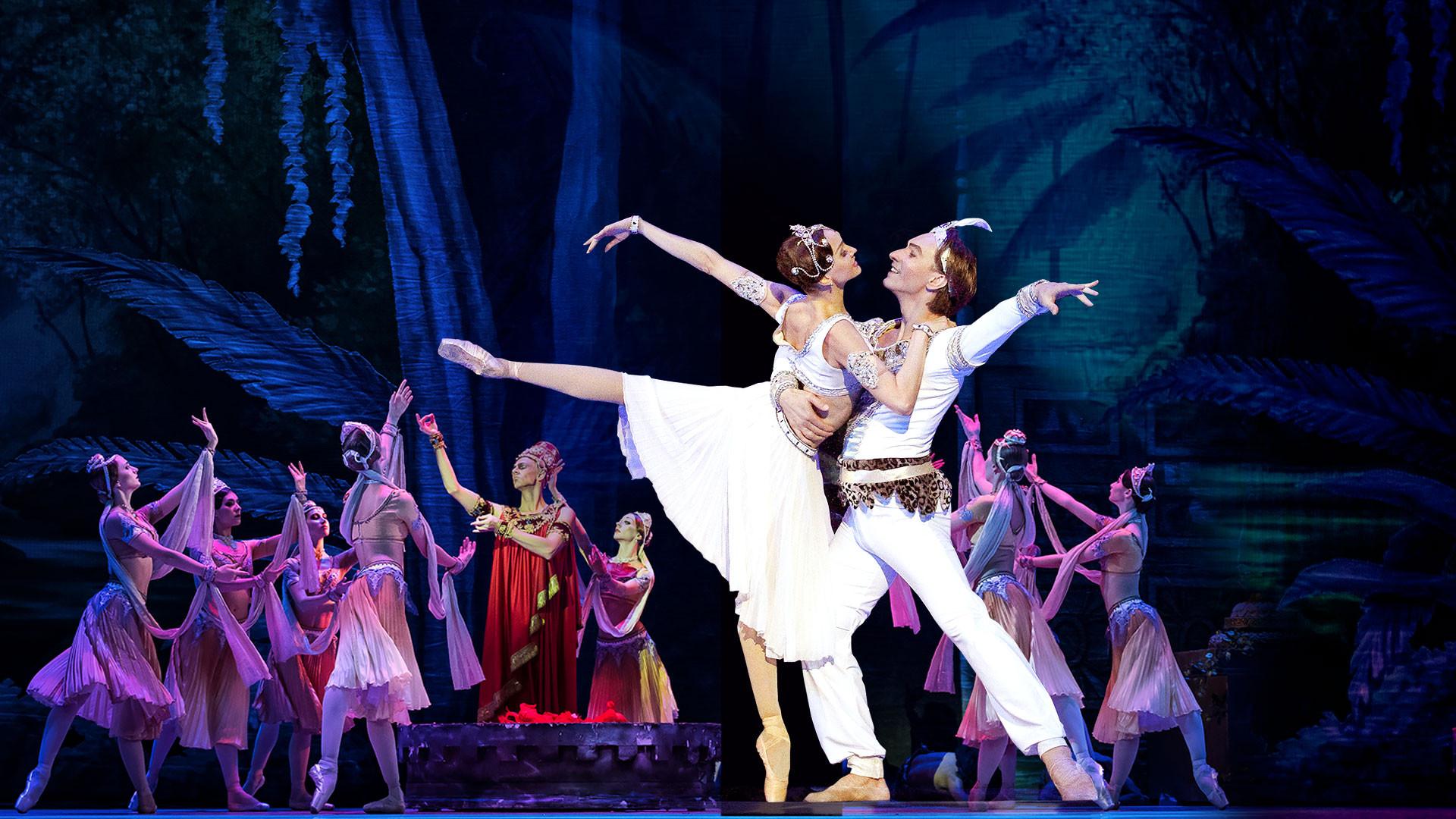 """IX Фестиваль балета в Кремле. Баядерка. Л. Минкус. Спектакль театра """"Кремлёвский балет"""""""