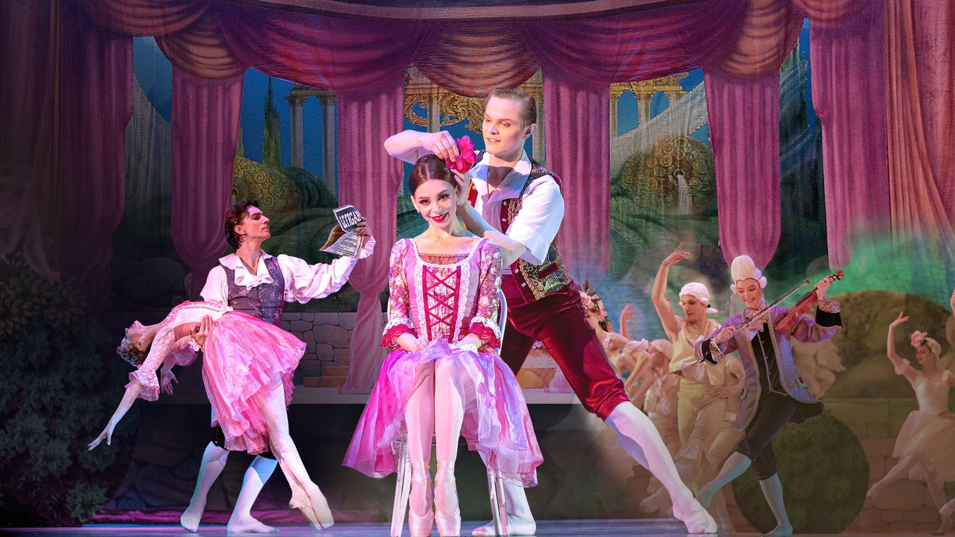 """Фигаро. На музыку В.А. Моцарта и Дж. Россини. Спектакль театра """"Кремлёвский балет"""""""